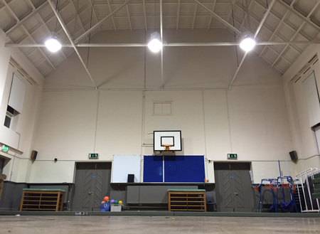 Our current training hall in Rathmines